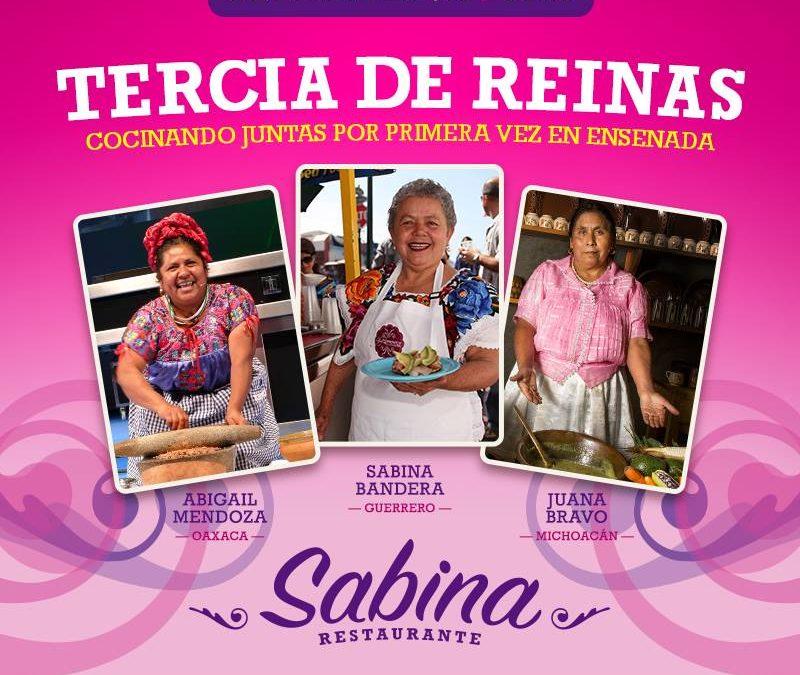 Espectacular Tercia de Reinas cocinando juntas en Ensenada.