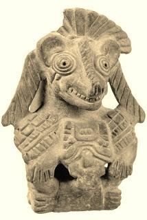 Yaushu, una deidad Cora; es nuestro Tlacuache.