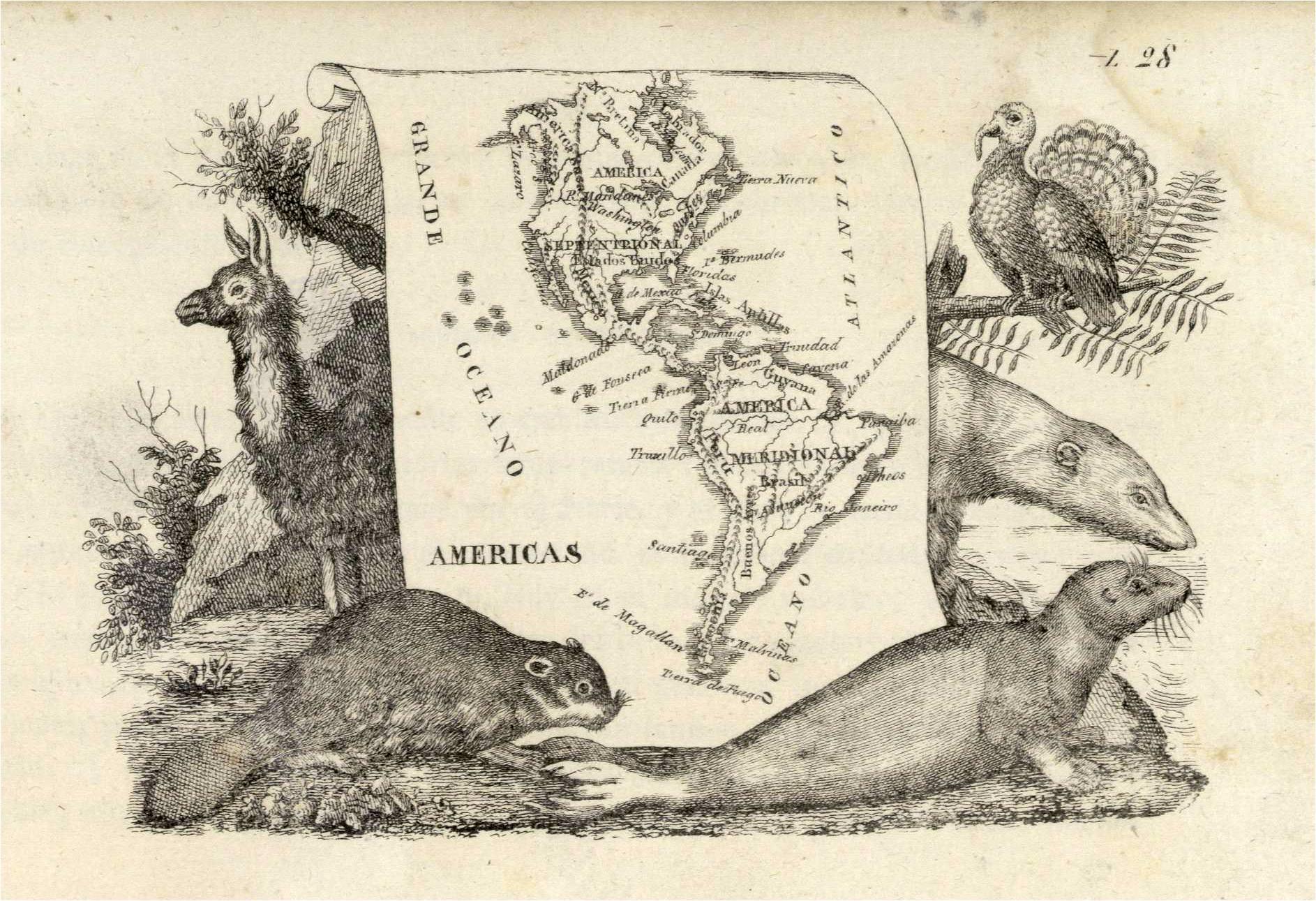 PDF Geografía en láminas y mapas con el retrato y descripción de los usos, trages y costumbres de todas las naciones.