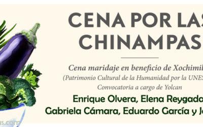Cena a beneficio por la CHINAMPAS de Xochimilco 2017