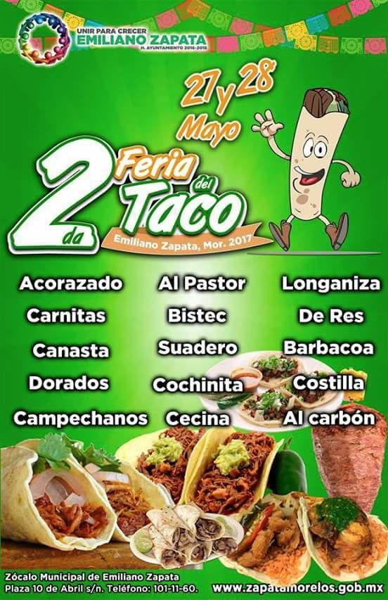 2da Feria del Taco Emiliano Zapata 2017