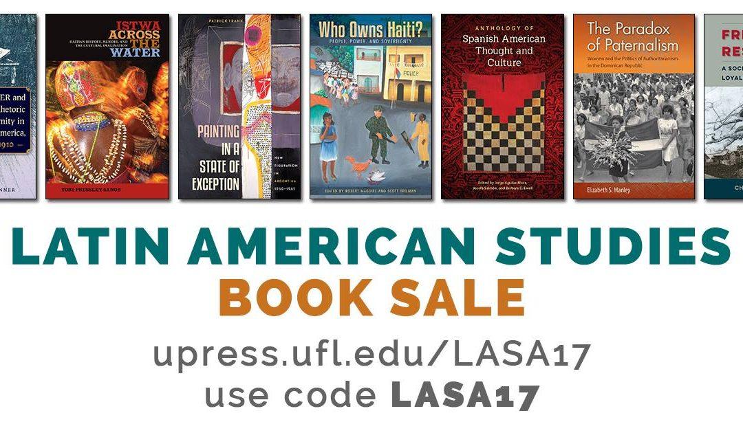 GRAN VENTA de Libros sobre Estudios Latinoamericanos.