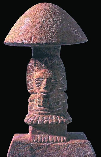 Las piedras-hongo / Teónanácatl  «la carne de los dioses»