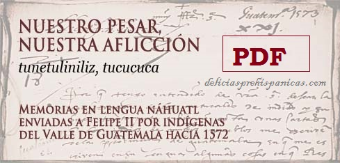 PDF -Memorias en lengua Nahuatl. TUNETULINILIZ, TUCUCUCA. Lingua franca indígena