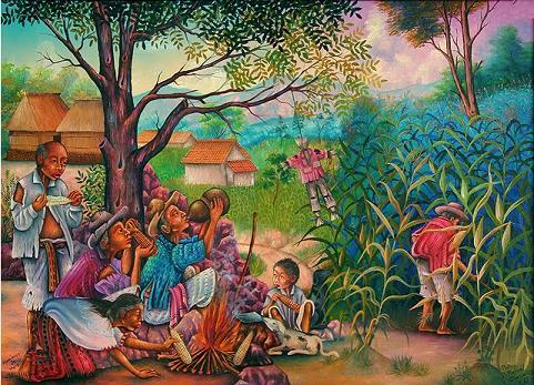 ATOLES de la Península Yucateca / Ritual de la milpa ch´a´chaak (petición de la lluvia)