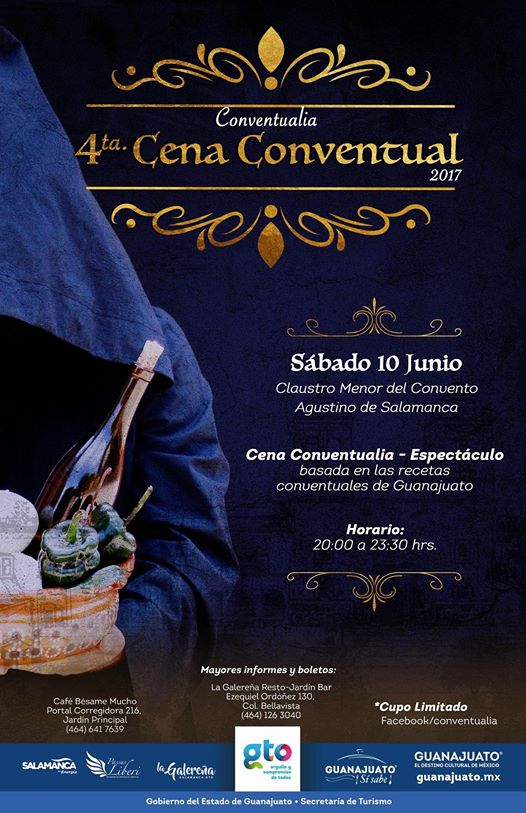 4a. CENA CONVENTUAL. Recetarios virreinales de los conventos guanajuatenses