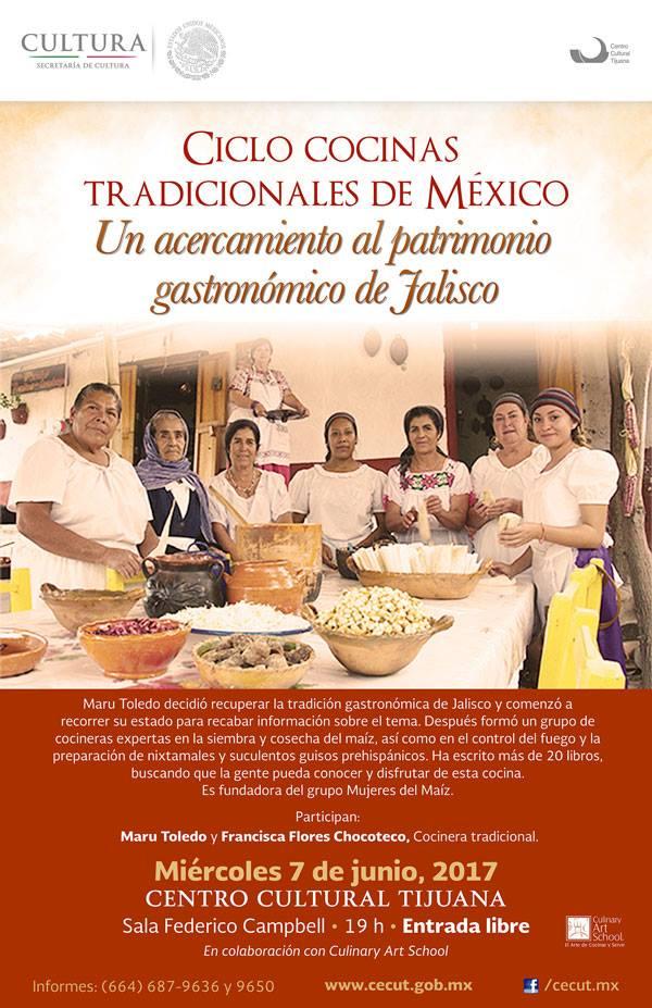 Ciclo Cocinas tradicionales de México: Un acercamiento al patrimonio gastronómico de Jalisco