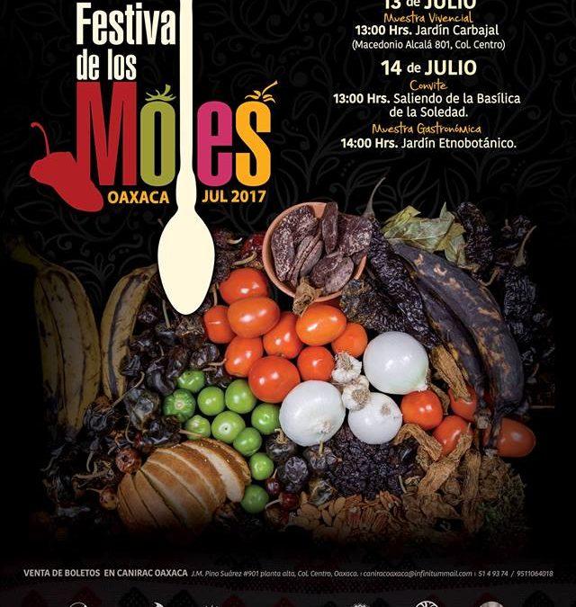 Ya viene el Festival de los Moles de Oaxaca 2017