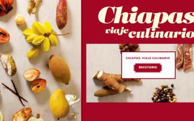 """Recetario """"Chiapas un viaje Culinario""""  Libro digital."""