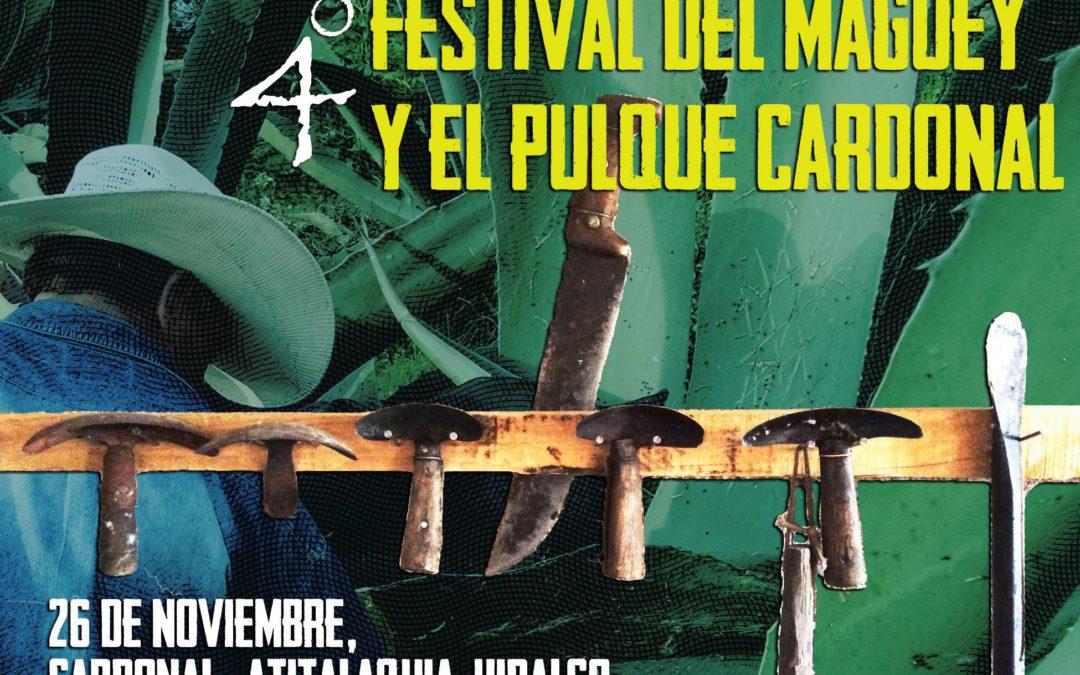 4to Festival del Maguey y el Pulque Cardonal en honor a los tlachiqueros de Atitalaquia. / Noviembre 2017