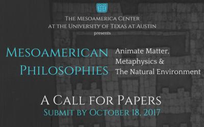 """""""Call for Papers"""" – Simposio de Reuniones Mesoamericanas 2018"""