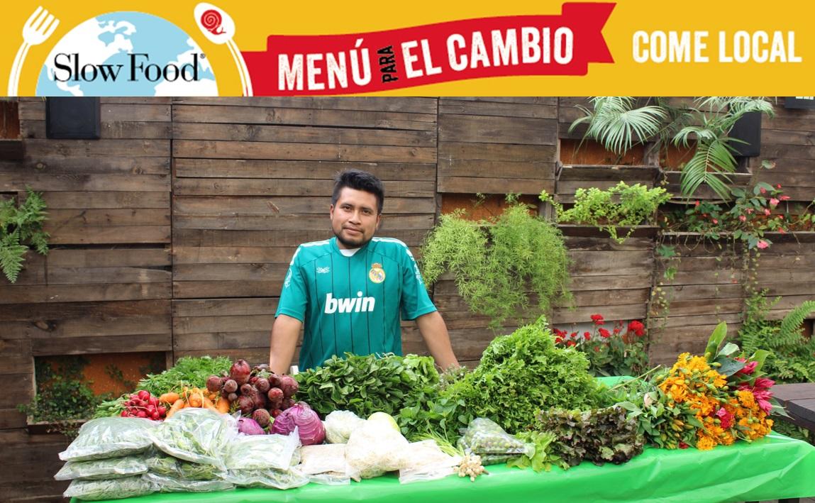 """Con la campaña """"Menú para el cambio"""" Slow Food sitúa a la comida en el centro de la lucha contra el cambio climático"""