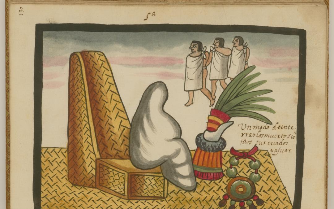 La Muerte del Tlatoani, ritos funerarios del México antiguo. Día de Muertos.