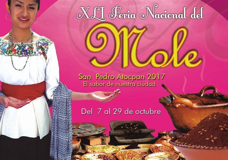 OCTUBRE – Feria Nacional del Mole, San Pedro Atocpan, Milpa Alta 2017