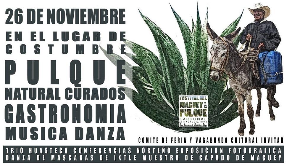 4to Festival del Maguey y el Pulque Cardonal