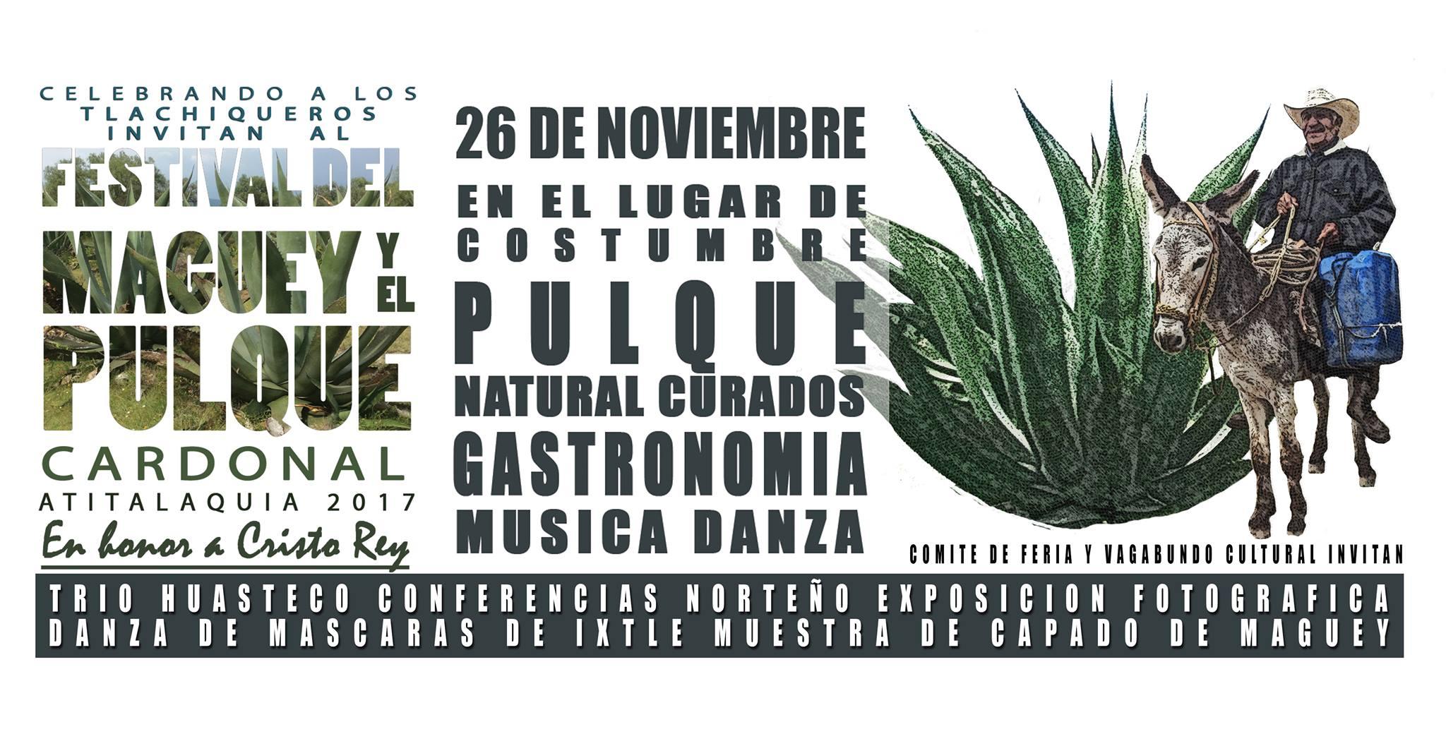 Festival del Maguey y el Pulque Cardonal