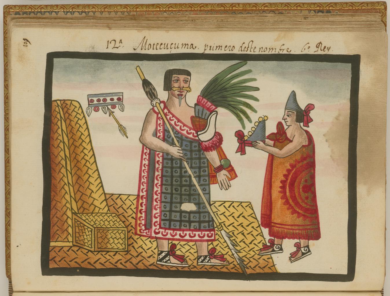 Oda al Chocolate con «El berrinche de Moctezuma» – Calaverita literaria / Códice Tovar.