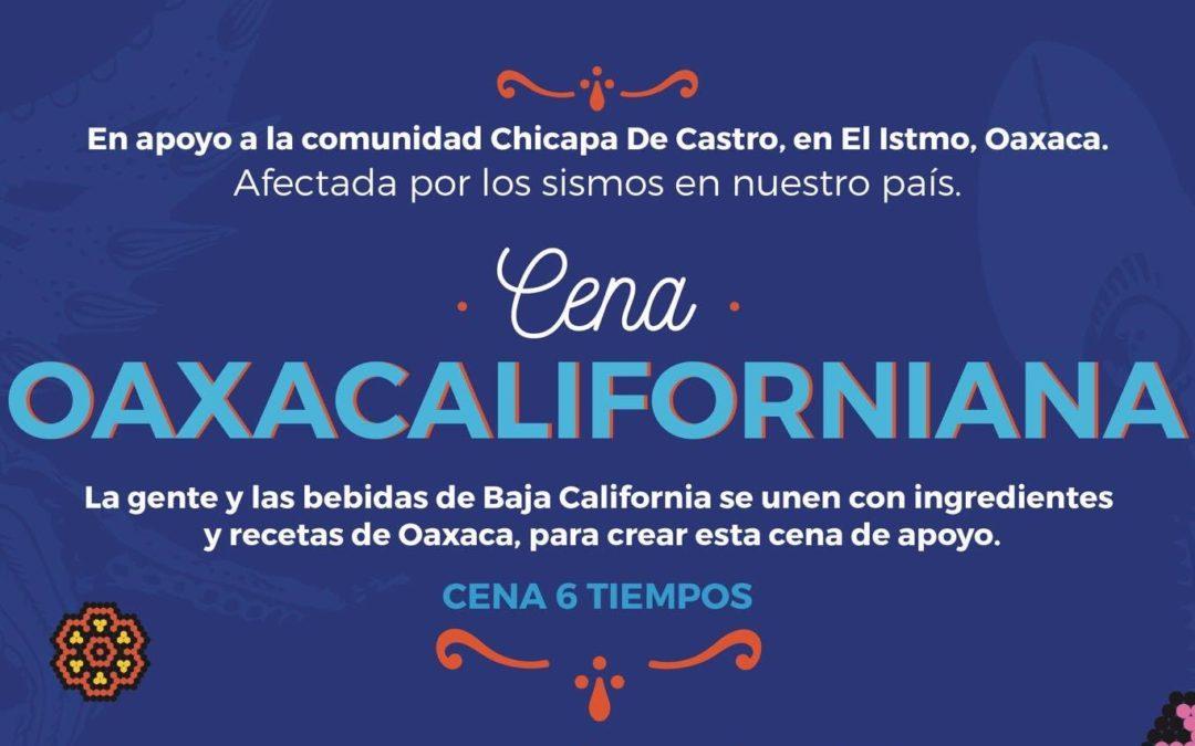 Cena-beneficio a la comunidad de Chicapa de Castro, Oax. / TIJUANA Maestría en Cocinas de México.