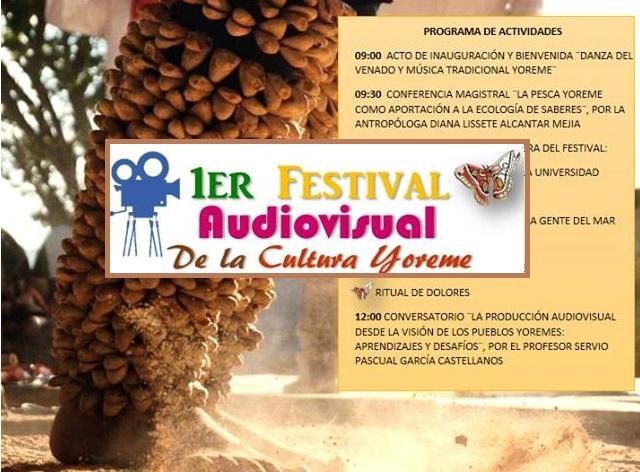 Primer Festival Audiovisual de la Cultura Yoreme 2017