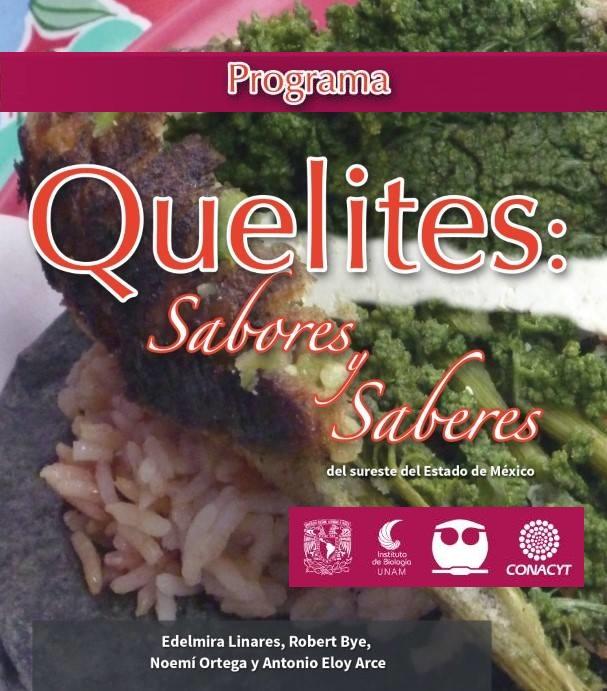 QUELITES: Sabores y Saberes del Sureste del Estado de México – Noviembre 2017