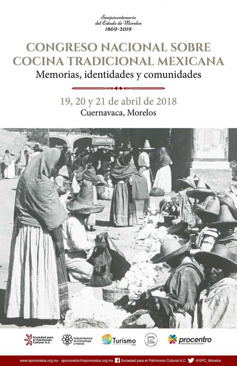 Congreso Nacional sobre Cocina Tradicional Mexicana, Cuernavaca 2018