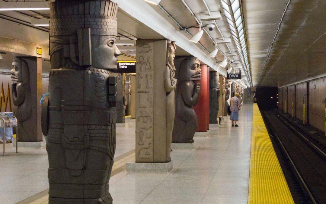 #HidalgoMágico. La cultura mexicana prehispánica el metro de Toronto, On. Canada.