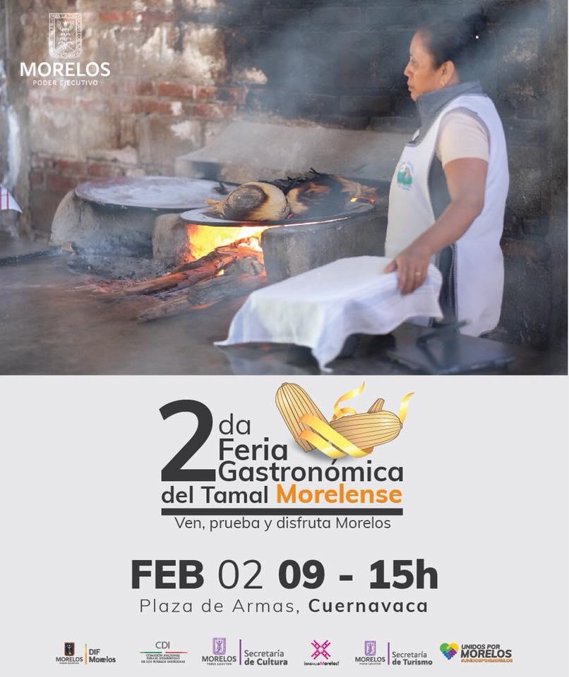Segunda Feria Gastronómica del Tamal. Cuernavaca, Morelos