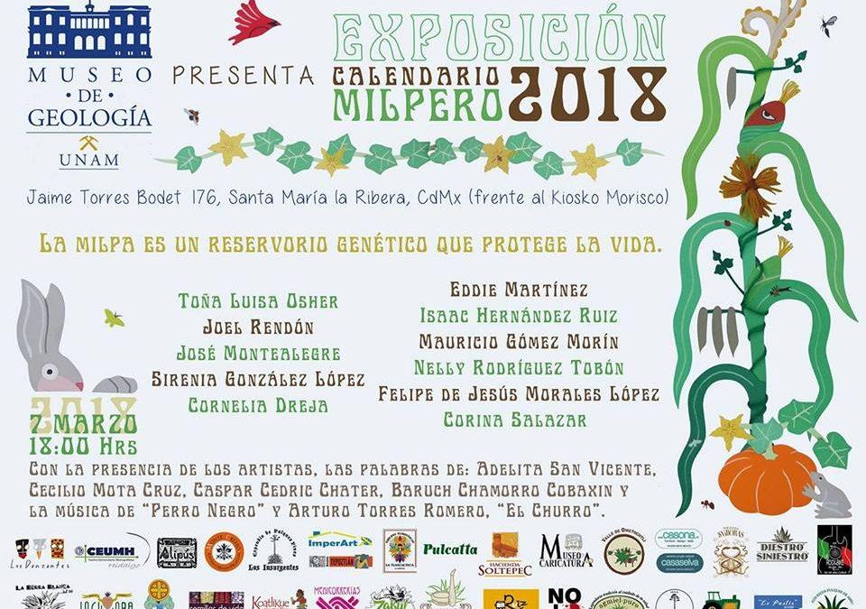 """Asiste a la """"Exposición Calendario Milpero 2018"""" CDMX"""