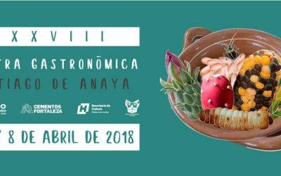 No te pierdas la edición #38 de la Muestra Gastronómica de Santiago de Anaya #ABRIL 2018
