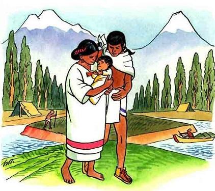 Así cuidaban las madres a sus niños durante la época prehispánica.