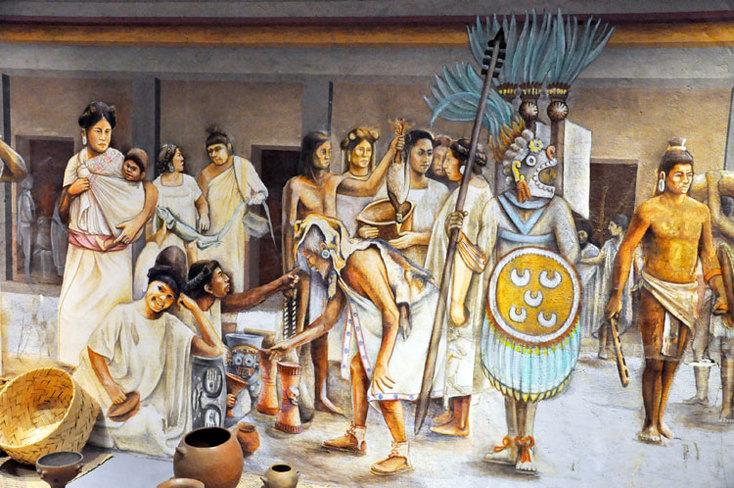 Origen de las palabras «AZTECAS» y «MEXICANOS».