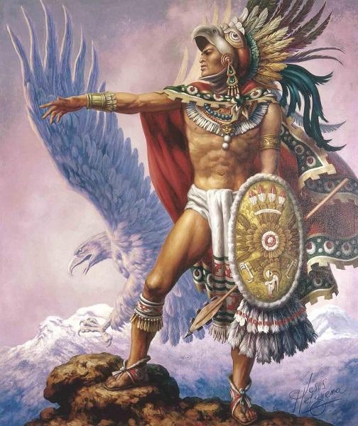 Este es el último mandato del tlatoani Cuauhtémoc,1521.