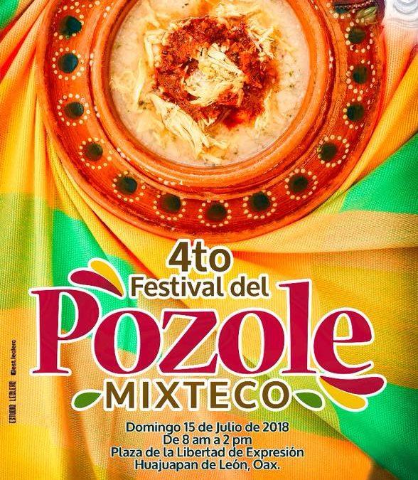 Asiste al 4to Festival del Pozole Mixteco en Huajuapan de León, Oax.