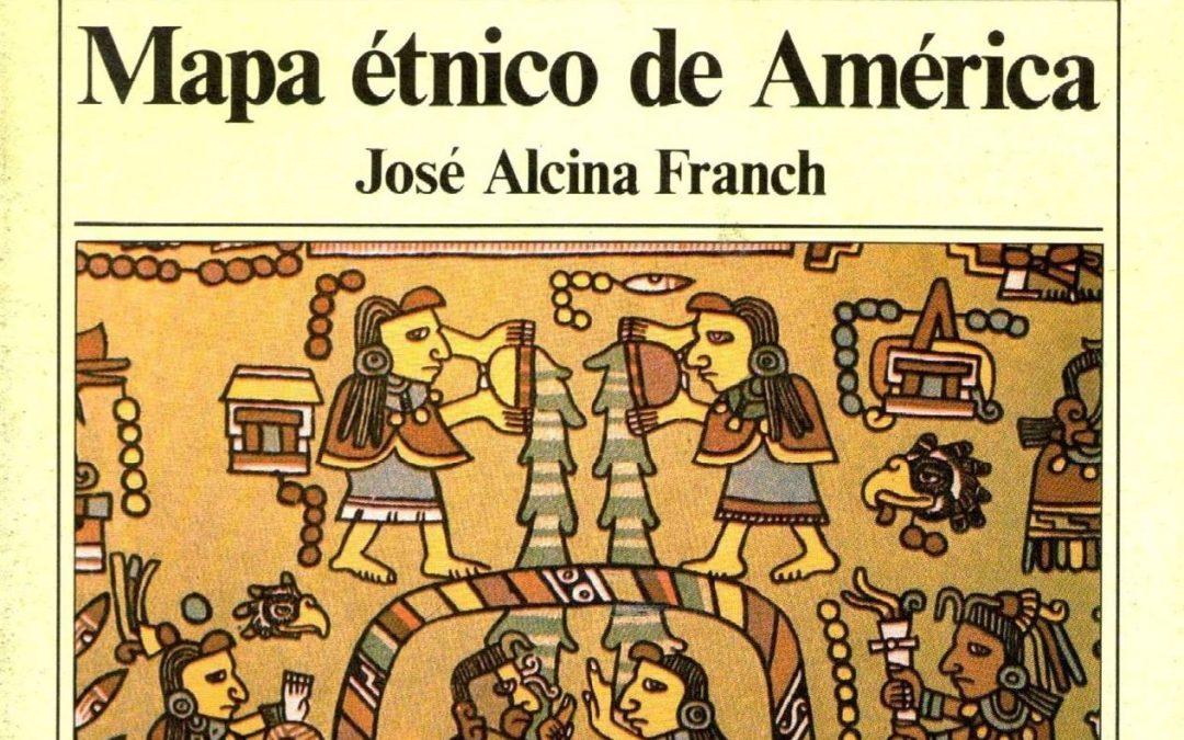 Descarga en PDF – MAPA ÉTNICO DE AMÉRICA entre 1450 y 1550.