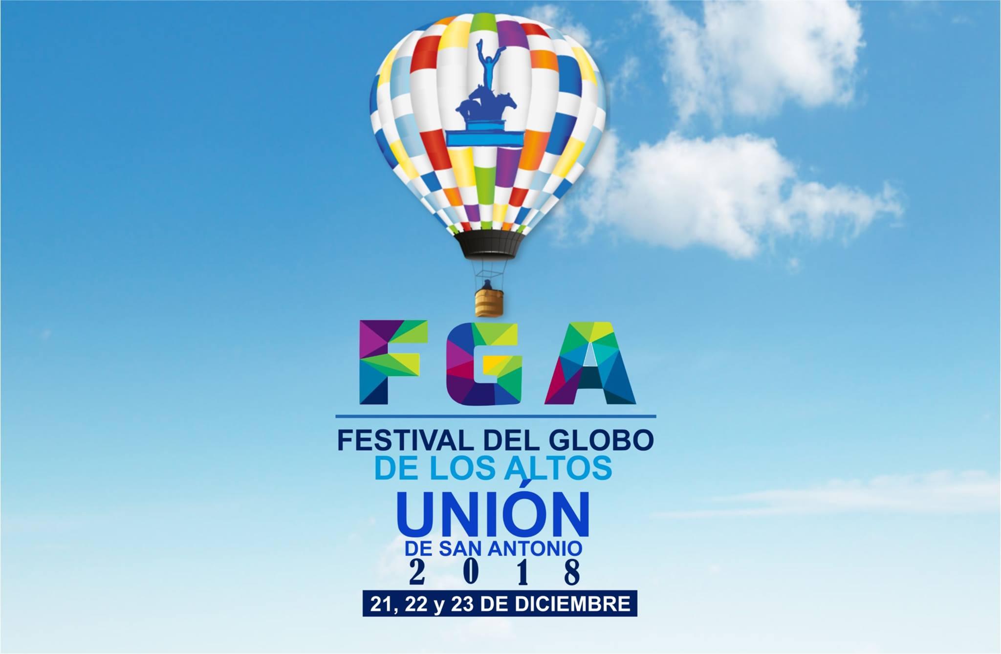 PROGRAMA del Festival de Globo de los Altos, Jalisco 2018