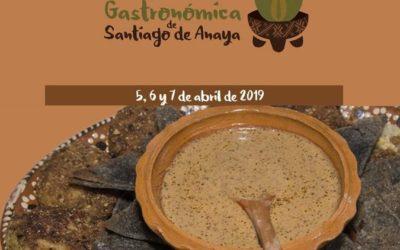 1,500 cocineras te esperan en la Edición 39 de la Muestra Gastronómica Santiago de Anaya (2019)