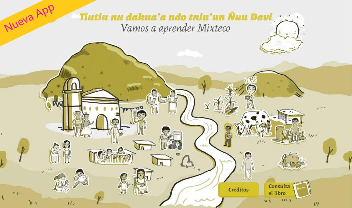 Nueva App «Vamos a aprender mixteco»