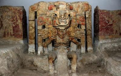 Altares funerarios del Zapotal Veracruz.