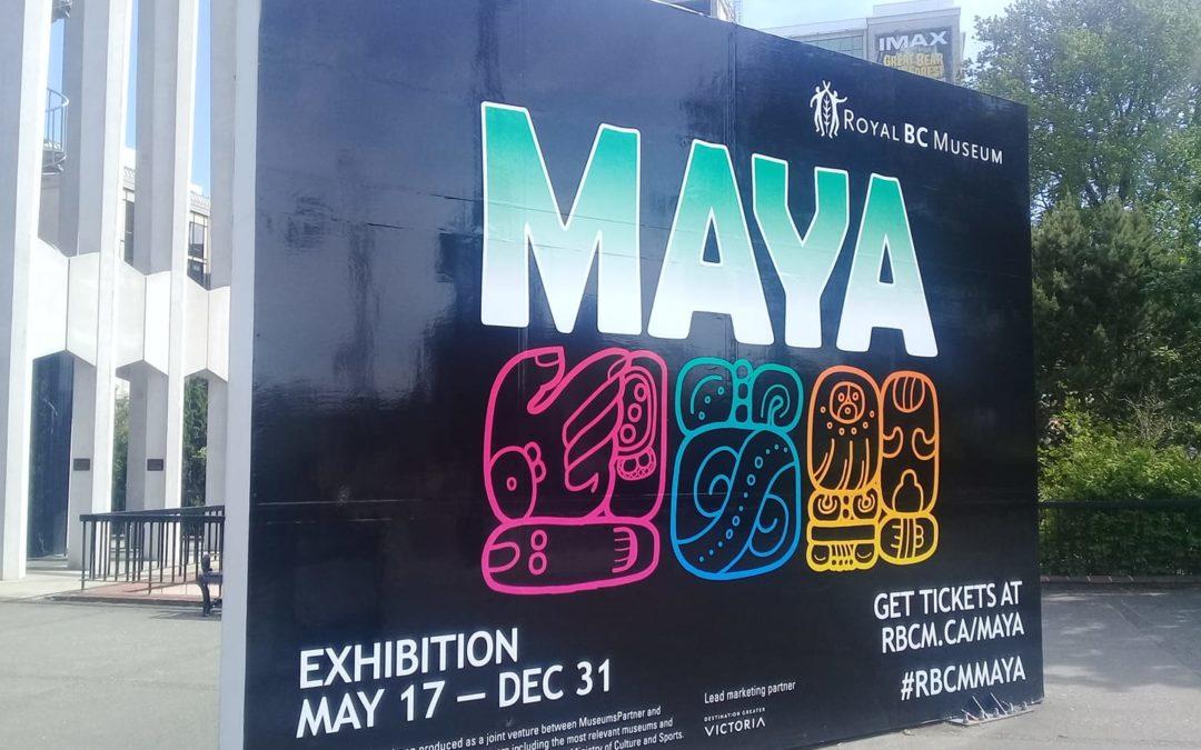 """Exposición """"MAYAS: El gran jaguar se levanta"""" en el Royal BC Museum, en Victoria, Canadá"""
