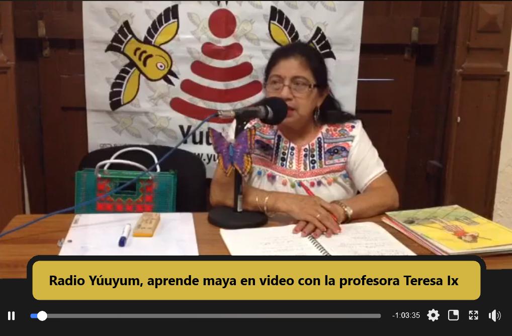 Aprende lengua maya en video gracias al colectivo Radio Yúuyum.