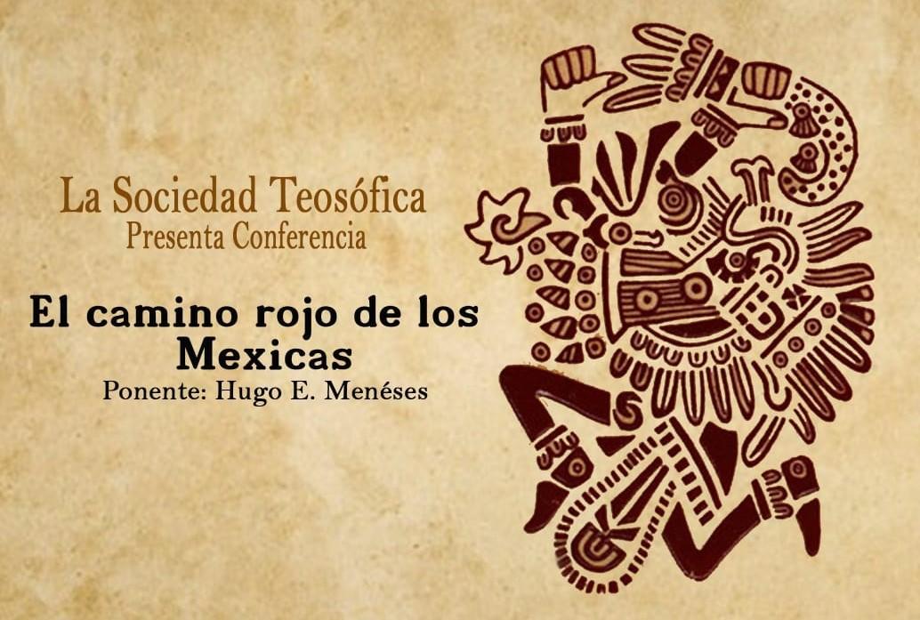 Te invitamos a la conferencia «El camino rojo de los Mexicas» es en #Puebla
