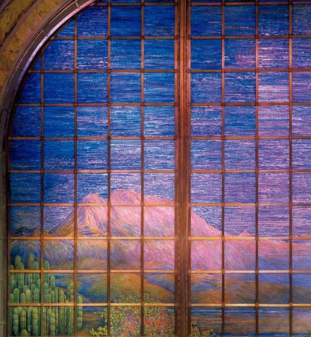 El gran telón de la Sala Principal del Palacio de Bellas Artes