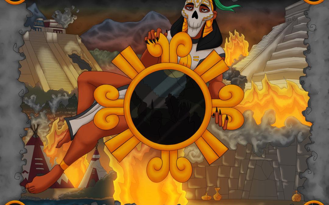 NELLI – Tlaneci Tlamatiliztli, personificación de la sabiduría mesoamericana.