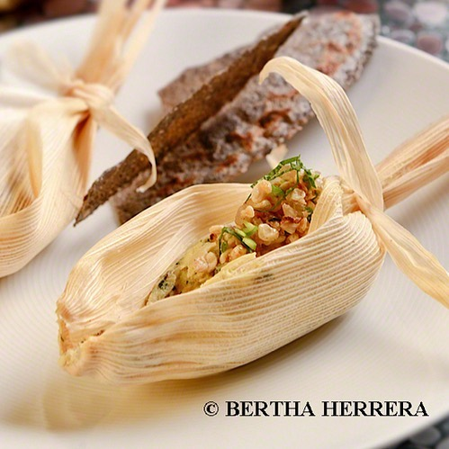 Para recordar: Huevos de codorniz con escamoles / Chef Patricia Quintana.