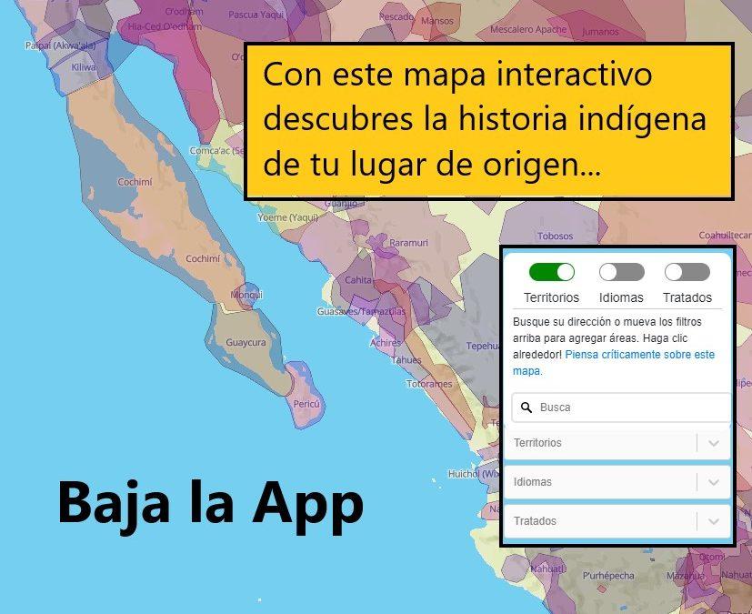 Descubre la historia indígena de tu lugar de origen con este mapa interactivo