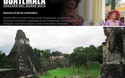 "NETFLIX estrena «Guatemala: Corazón del mundo maya"" documental."