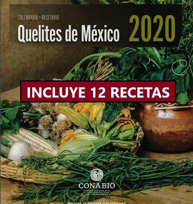 Nuevo Recetario y Calendario QUELITES de México 2020