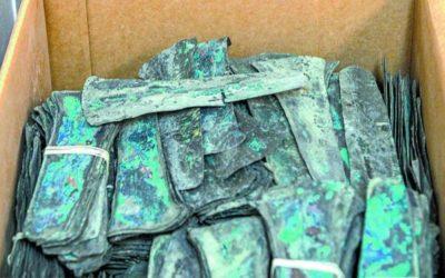 Regresan a México 3,500 monedas precolombinas