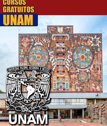 🚩Conoce los 43 Cursos Gratuitos que ofrece la UNAM