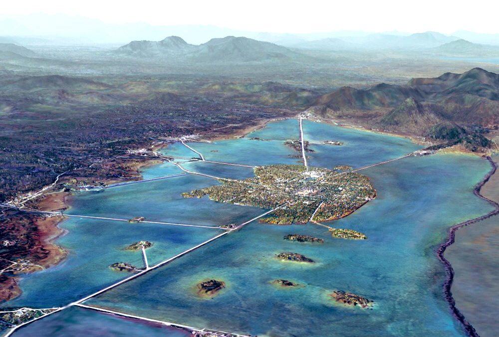 El superalimento que se cosechaba en los lagos de la Gran Tenochtitlan.